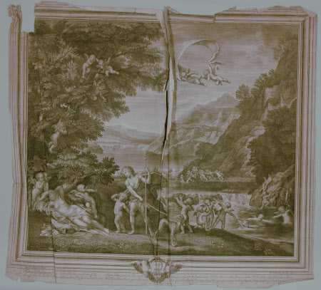 Venus and Adonis (after Francesco Albani)