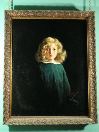 The Hon. Helen Elizabeth Ward (1912-2005), as a girl