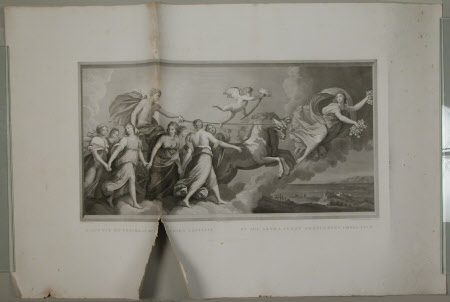 Apollo in his Chariot preceded by Aurora (after Guido Reni)