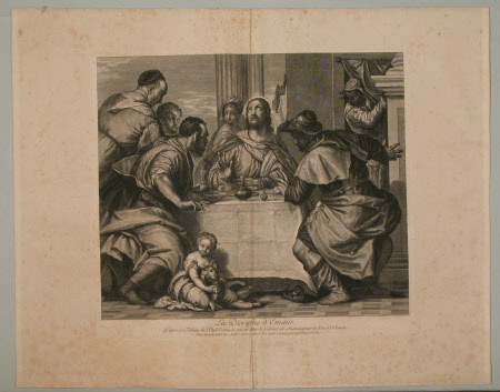 The Supper at Emmaus (after Paolo Veronese)