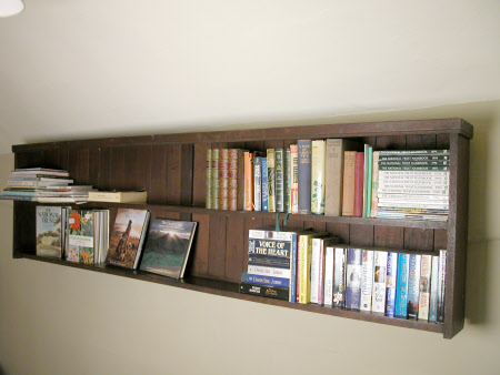 Mural bookcase