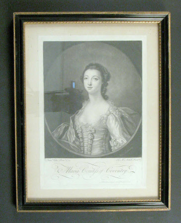 Maria Gunning, Countess of Coventry (1733-1760) (after Francis Cotes)