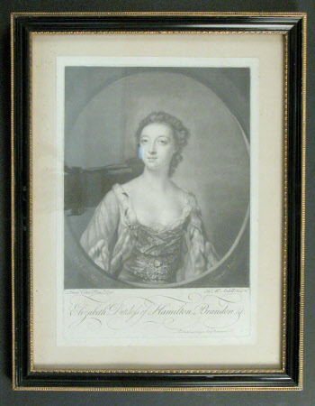 Elizabeth Gunning, Duchess of Hamilton and Duchess of Argyll (1734 – 1790) (after Francis Cotes)