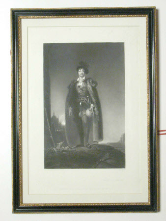 John Philip Kemble (1757-1823) as 'Hamlet' in William Shakespeare's 'Hamlet' (after Sir Thomas ...