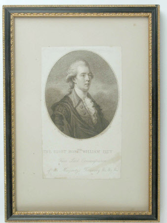 The Rt Hon William Pitt the younger MP (1759-1806) (after John Singleton Copley, RA)