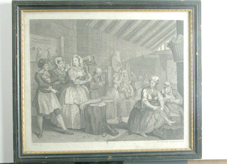 'A Harlot's Progress: IV. Scene in Bridewell.'