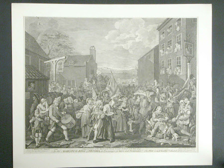 'The March to Finchley (The March of the Guards towards Scotland in the year 1745)'