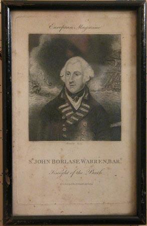 Admiral Sir John Borlase Warren, Bt, PC, MP, GCB (1753-1822)