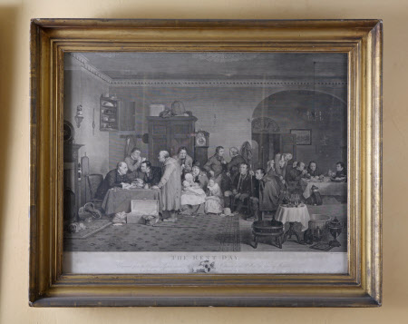 The Rent Day (after Sir David Wilkie)