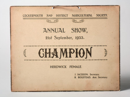 Show certificate