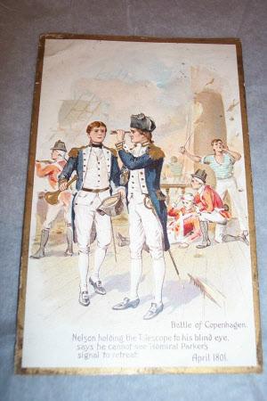 Horatio Nelson, 1st Viscount Nelson (1758-1805) at the Battle of Copenhagen