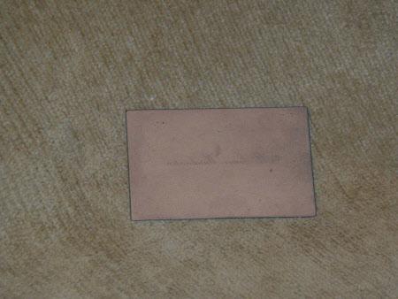 Engraving plate