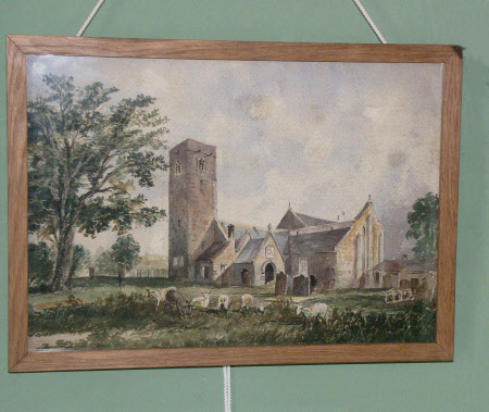 Ovingham Church 1847