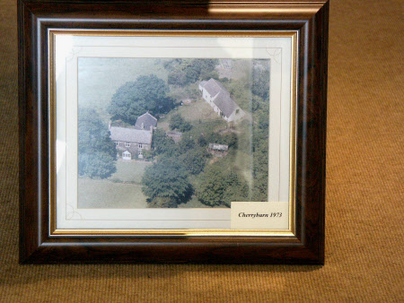 Aerial view of Cherryburn, Yorkshire: 1973