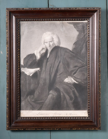Laurence Sterne (1713-1768) (after Sir Joshua Reynolds)