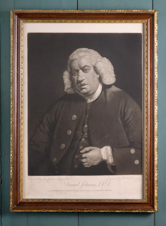 Dr. Samuel Johnson (1709-1784) (after Sir Joshua Reynolds)