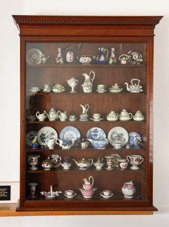 Miniature porcelain collection
