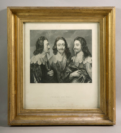 Triple portrait of King Charles I (1600-1649) (after Sir Anthony Van Dyck)