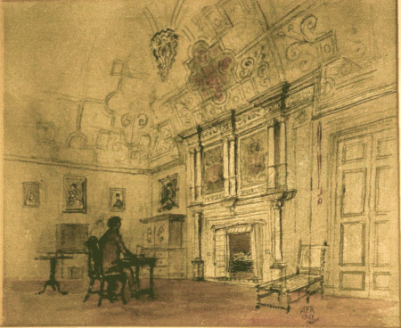 The Great Chamber, Canons Ashby, Northamptonshire