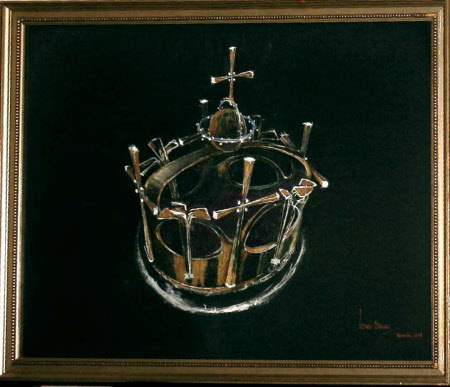 Design for the the Crown of Charles, Prince of Wales.