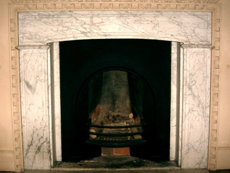 Chimneypiece, Spenser Room, Canons Ashby