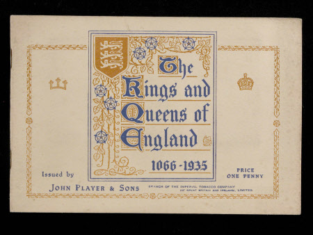 The Kings and Queens of England 1066-1935