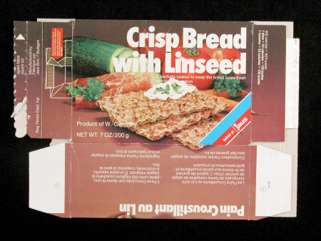 Crispbread package