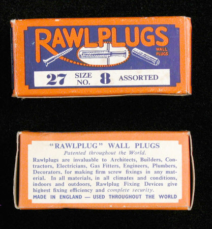 Rawlplug box