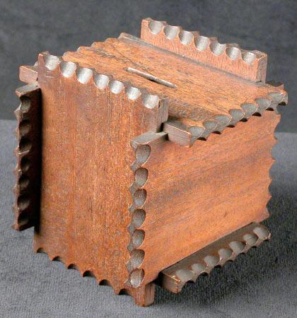 Puzzle money box