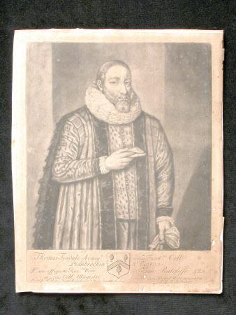 Thomas Tesdale Armigr. Pembrochice