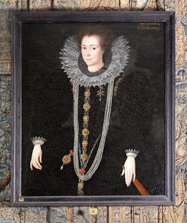 Possibly Anne Keighley, Mrs William Cavendish (d.1598/-99)