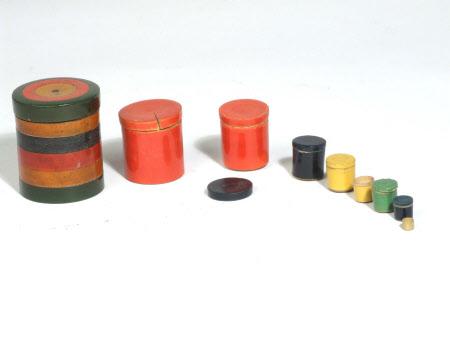 Nesting canister
