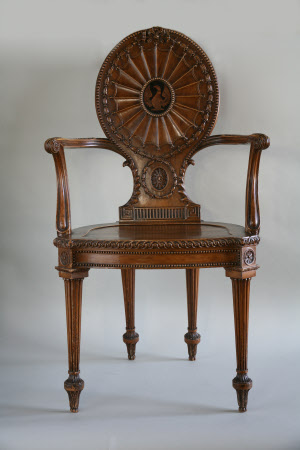 The Nostell Priory Hall Chairs: circa 1770 - 1775