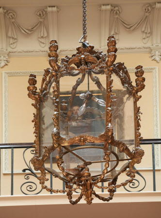 The Nostell Priory Hall Lantern - circa 1765 - 1770