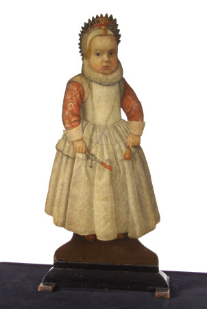 Silent Companion: Girl with Rattle (dummy board)