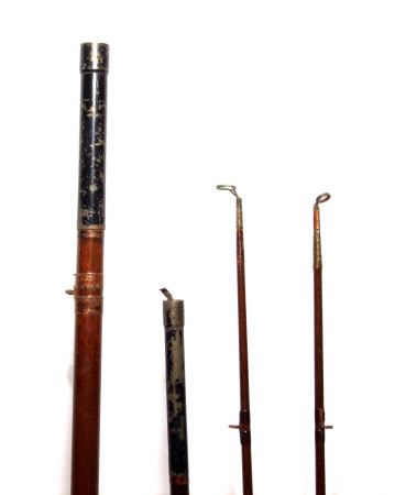 Fishing rod section