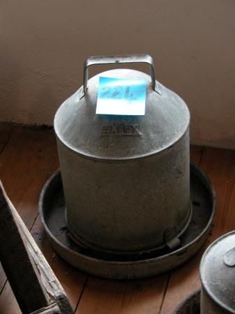 Fowl water feeder