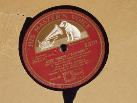 Side;1) Nuns' Chorus (Casanova) Side;2) Spanish Romance (Casanova)