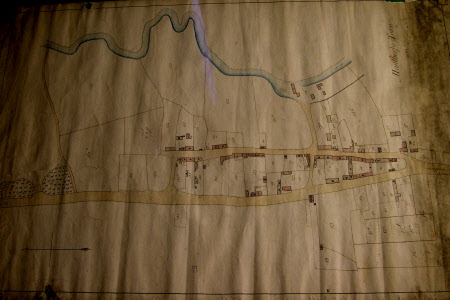 Map of Manthorpe Town, Lincolnshire