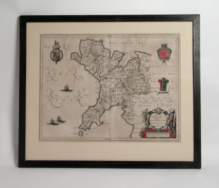 Map of Caernarfonshire and Anglesey