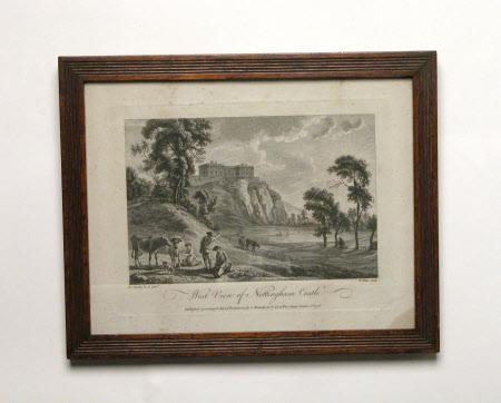 West View of Nottingham Castle (after Paul Sandby)