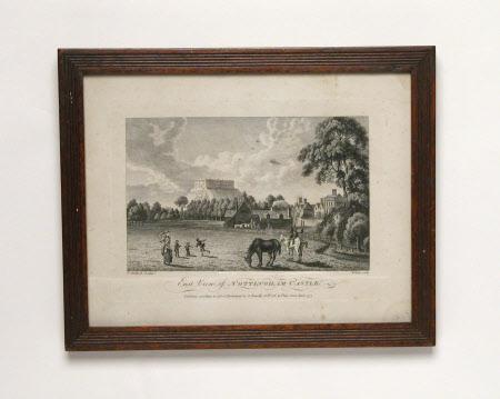 East View of Nottingham Castle (after Paul Sandby)
