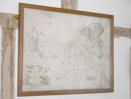 Map/plan of the Brockhampton Estate, Herefordshire
