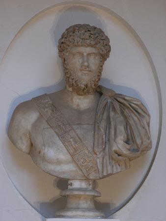 Emperor Lucius Verus, Emperor of Rome (130 – 169 AD)