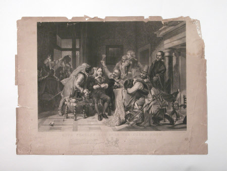 King Charles I (1600-1649) in the Guardroom (after Paul Delaroche)