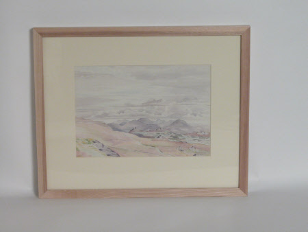 Snowdonia from Myndd-y-Rhiw.