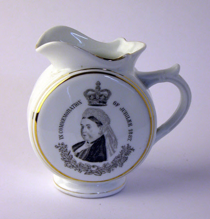A cup commemorating the Golden Jubilee of Queen Victoria (1819-1901)