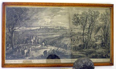 Dole prise dans la premiere conquête que le Roi a faite de la Franche Comté en 1668