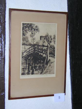 Flatford Mill and Bridge