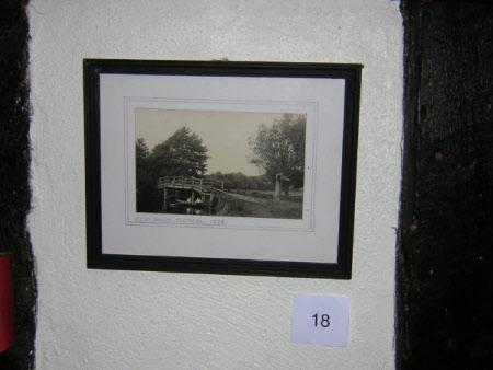 Fen Bridge, near Flatford, 1928